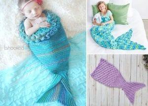 Mystic Mermaid Cocoons Free Crochet Patterns