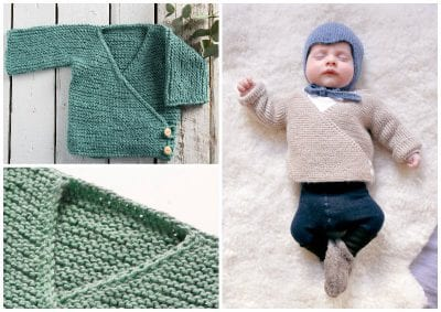 Side Button Baby Cardigan