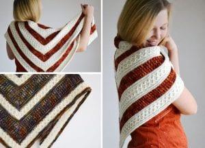 free crochet pattern: Mindfulness Crochet Wrap