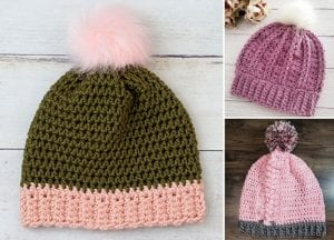 Interesting and Fun Crochet Beanies