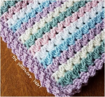 Sweetheart Crochet Blanket Free Pattern