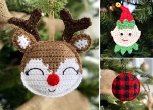Christmas Crochet Ornaments Free Pattern
