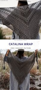 Catalina Wrap Free Crochet Pattern