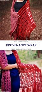 Provenance Wrap Free Crochet Pattern