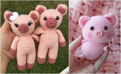 Cute Pigs Amigurumi FREE