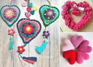 Crochet Home Decor Ideas for Valentine's Day