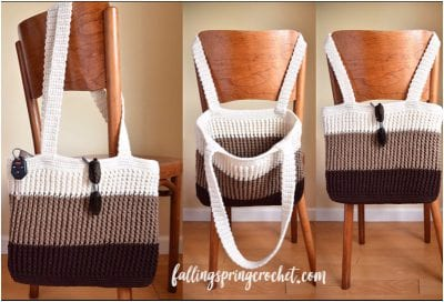 Free crochet pattern for beginners Bag Tote