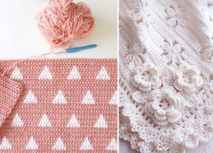 Beautiful Crochet Blankets for Babies
