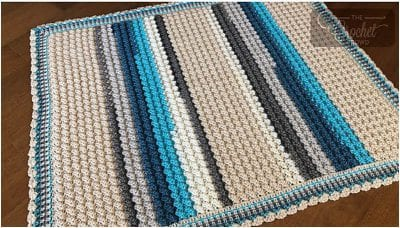 Crochet Bubble Pop Baby Blanket