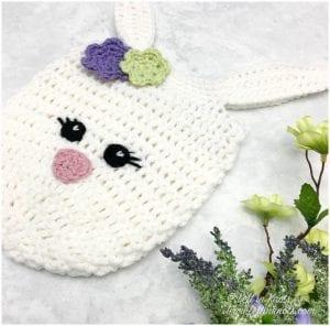 easter crochet tote free pattern