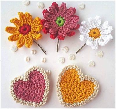 Gerbera Crochet Flowers