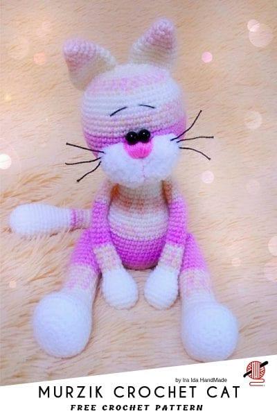 MURZIK CROCHET CAT free pattern