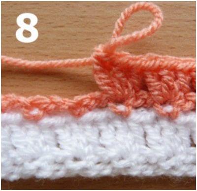Piggyback Crochet Stitch Pictorial