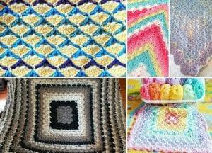 Beautiful Shells Blanket Free Crochet Pattern Featured