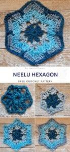 Neelu Hexagon Free Crochet Pattern