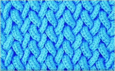 Cute Crochet Stitch For Blankets Free Pattern