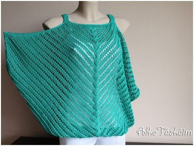 The Sleeveless Top in Easy Knitted Design Free Pattern