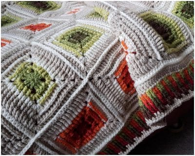 Perfect Crocheted Retro Afghan Squares Free Pattern
