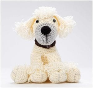 Awesome Crocheted Pet Poppy Dog Free Pattern
