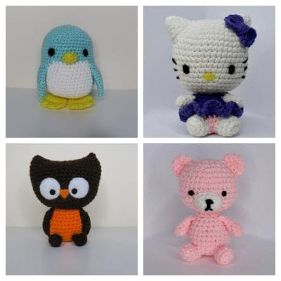 Awesome Little Softies Familly Free Pattern