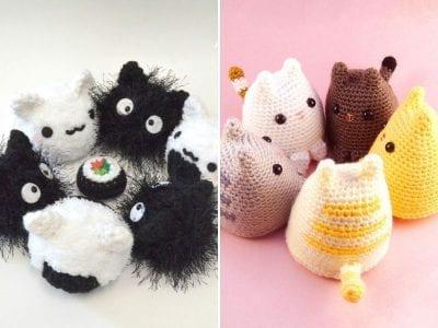 Cute Crochet Kitties With Free Patterns