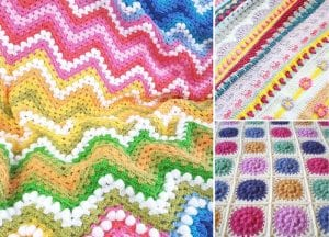 Cheerful And Vibrant Floral Blankets