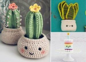 Crochet Birthday Cakes Free Crochet Pattern