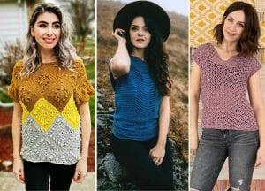 Stunning Eye-Catching Crochet Tops