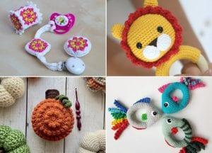 Crochet Baby Rattles Free Patterns