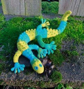Gecko Frecko Free Crochet Pattern