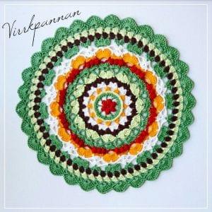Season Mandala Free Crochet Pattern