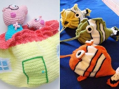 Patterns And Tutorial Of Crochet And Knit Part 5