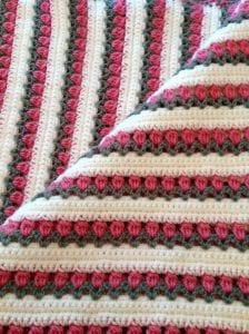 Tulip Throw Free Crochet Pattern