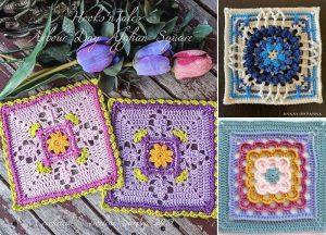 Beautiful Crochet Mandala Squares