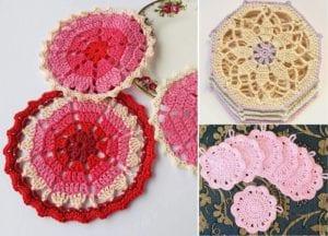 Elegant Crochet Coasters Free Crochet Pattern