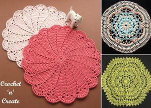 Lovely Crochet Lace Doilies