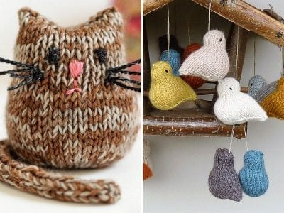Tiny Knitted Toys