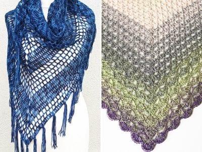 Beautiful Crochet Shawls