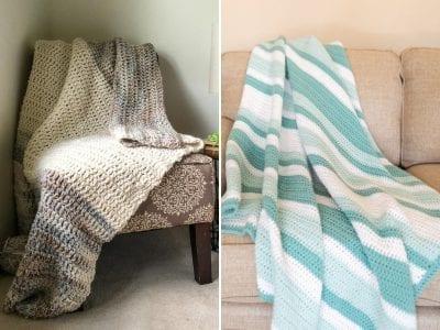 Beginners Double Crochet Blankets