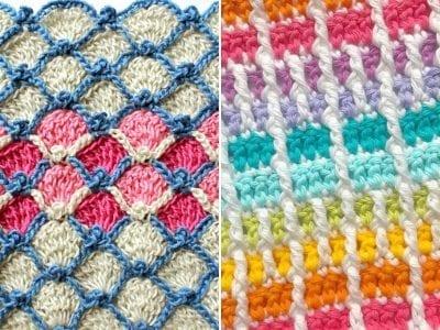 Colorful Crochet Stitches