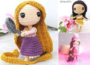 Cute Crochet Amigurumi Dolls