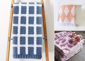Sweet And Soft Crochet Blankets