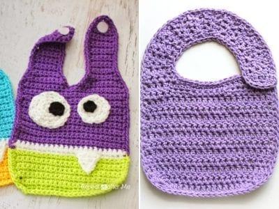 Cute Crochet Bibs