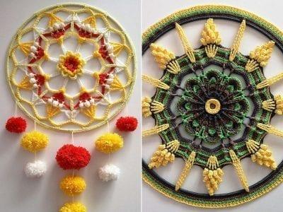 Fantastic Hoop Mandalas