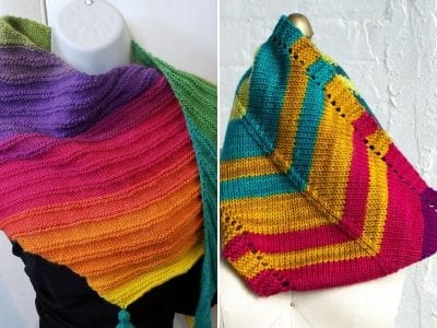 Rainbow Knitted Accessories