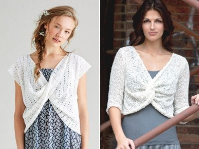 Twisted Front Knitted Blouses