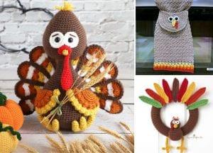 Crochet Thanksgiving Decor Ideas Free Crochet Patterns Featured
