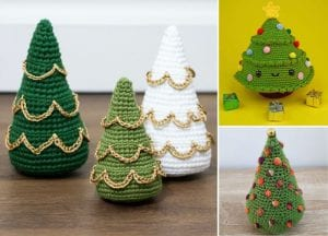 Cute Christmas Tree Amigurumi Free Crochet Pattern
