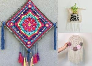Stunning Wall Decor Ideas Free Crochet Pattern