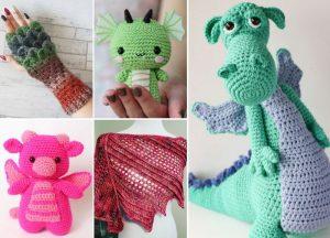 16 Incredible Free Crochet Dragon Patterns